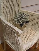 Chair French Vintage Rattan (Cream)