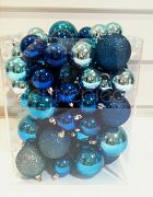 Christmas Baubels Blue