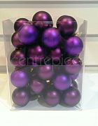 Christmas Baubels Purple
