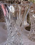 Vase Cut Glass Signature 30