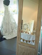 Mirror Dress White Freestanding