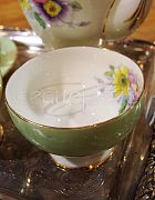 China Sugar Bowl Mint Green