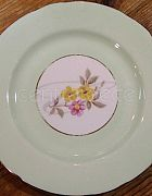 China Side Plate Mint Green