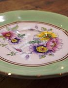 China Saucer Mint Green