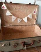 Bunting Cards - Hessian