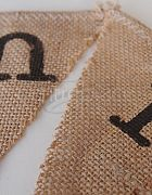 Bunting Mr & Mr - Hessian