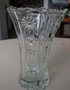 Vase Pressed Glass 15cm