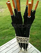 Golf Umbrella Black (Set of 10)