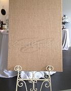 Easel Board Hessian