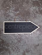 Blackboard Sign Arrow Large (Hanging)