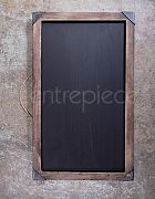 Blackboard Hanging Vintage Large Framed