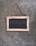 Chalkboard Sign Hanging French Country H:23