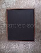 Blackboard Brown Frame Freestanding