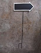 Blackboard Sign Arrow (Stand)