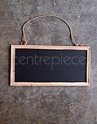 Chalkboard Sign Hanging French Country H:45