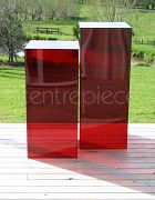 Plinth Acrylic Red (Small)