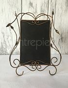 Table # Filigree Rustic