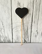 Table # Chalkboard Pick Heart