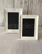 Table # Vintage Frame Assorted Blackboard White