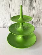 Cake Stand Acrylic (3-Tier Gr)