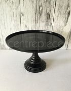 Cake Stand Black Finish 40cm