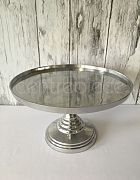 Cake Stand Silver Large