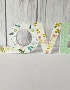 Sign LOVE Floral Print