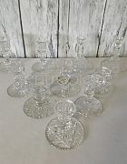 Candlestick Vintage Cut Glass Taper Assorted