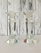 Candlestick Tall Crystal