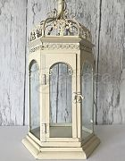 Lantern White Gazebo Large