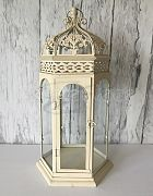 Lantern White Gazebo Medium