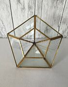 Terrarium Diamond Shape Gold