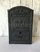 Wishing Well Letter Box Black Iron