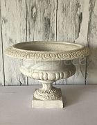Urn - Natural Stone White (H:28cm)