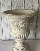 Urn - Natural Stone White (H:49cm)