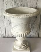 Urn - White High Gloss (H: 49cm)
