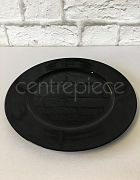 Charger Plate Black