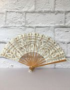 Fan Lace White