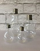 Vase Lightbulb Freestanding H: 17cm