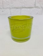 Votive Round Lime + Candle