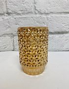 Candle Holder Diamond Gold