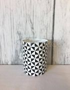 Votive Geometric Black & White