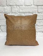 Cushion - Leather Brown