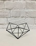 Plant Stand Wire Geometric black